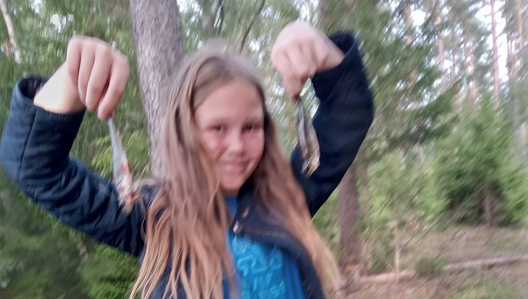 Caroline Johansson 11 år