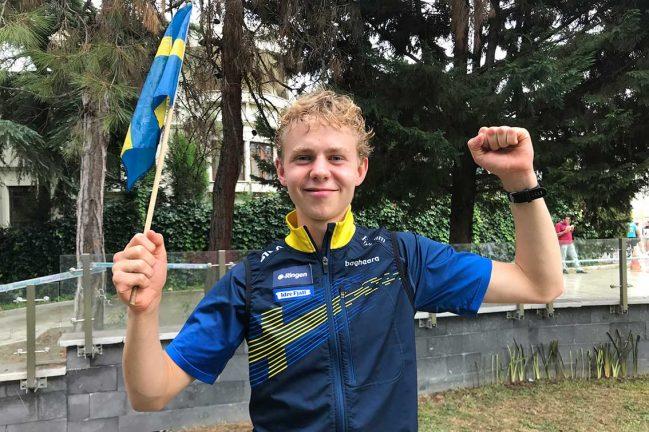 """Elmblad blev """"bara"""" femma i sprint-SM"""