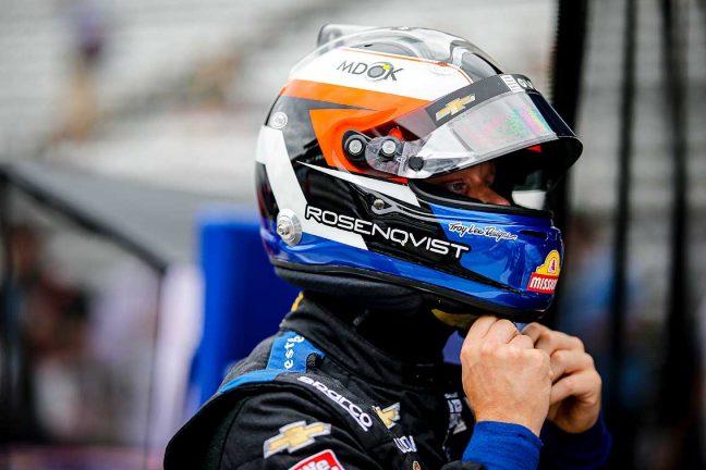 Felix Rosenqvist till indycar-finalen med dubbla målsättningar