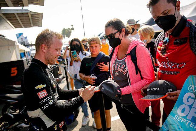 Felix Rosenqvist på plats 13
