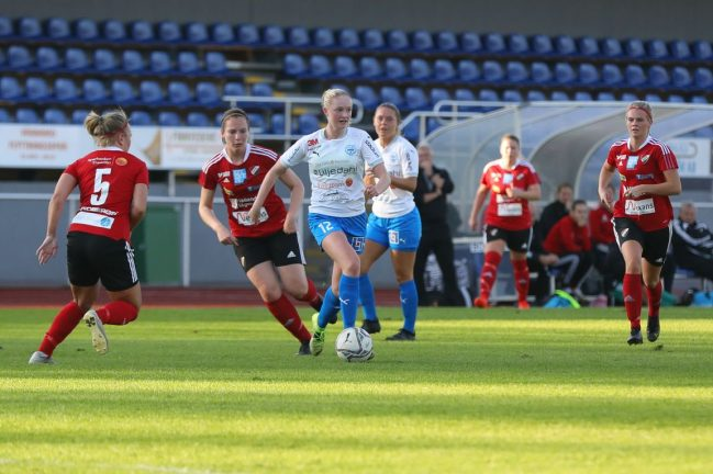 Bildextra: Mållöst för IFK-damerna