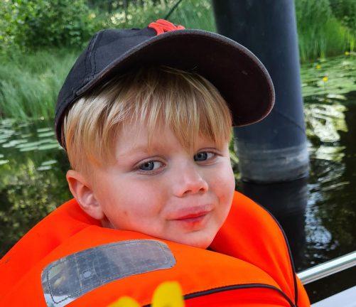 Jayson Mattsson 4 år