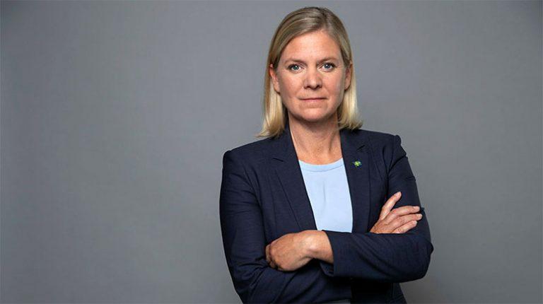 Magdalena Andersson nominerad av länet till ny partiordförande
