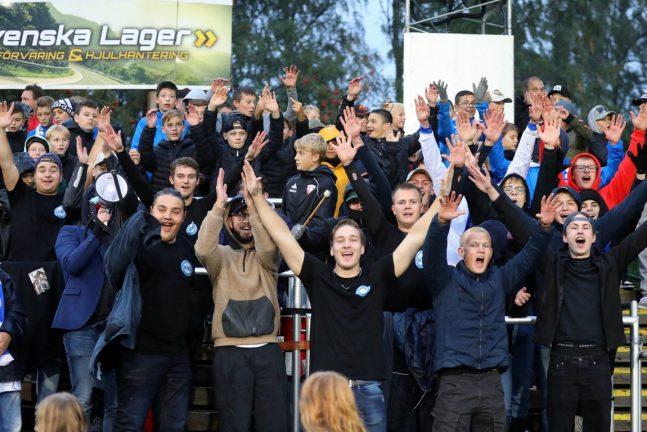 Bildextra: Publiken på IFK-matchen…
