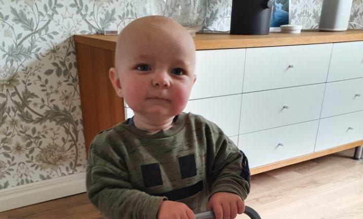 Elis Elg 1 år