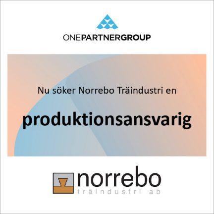 Norrebo Träindustri AB söker en ny kollega